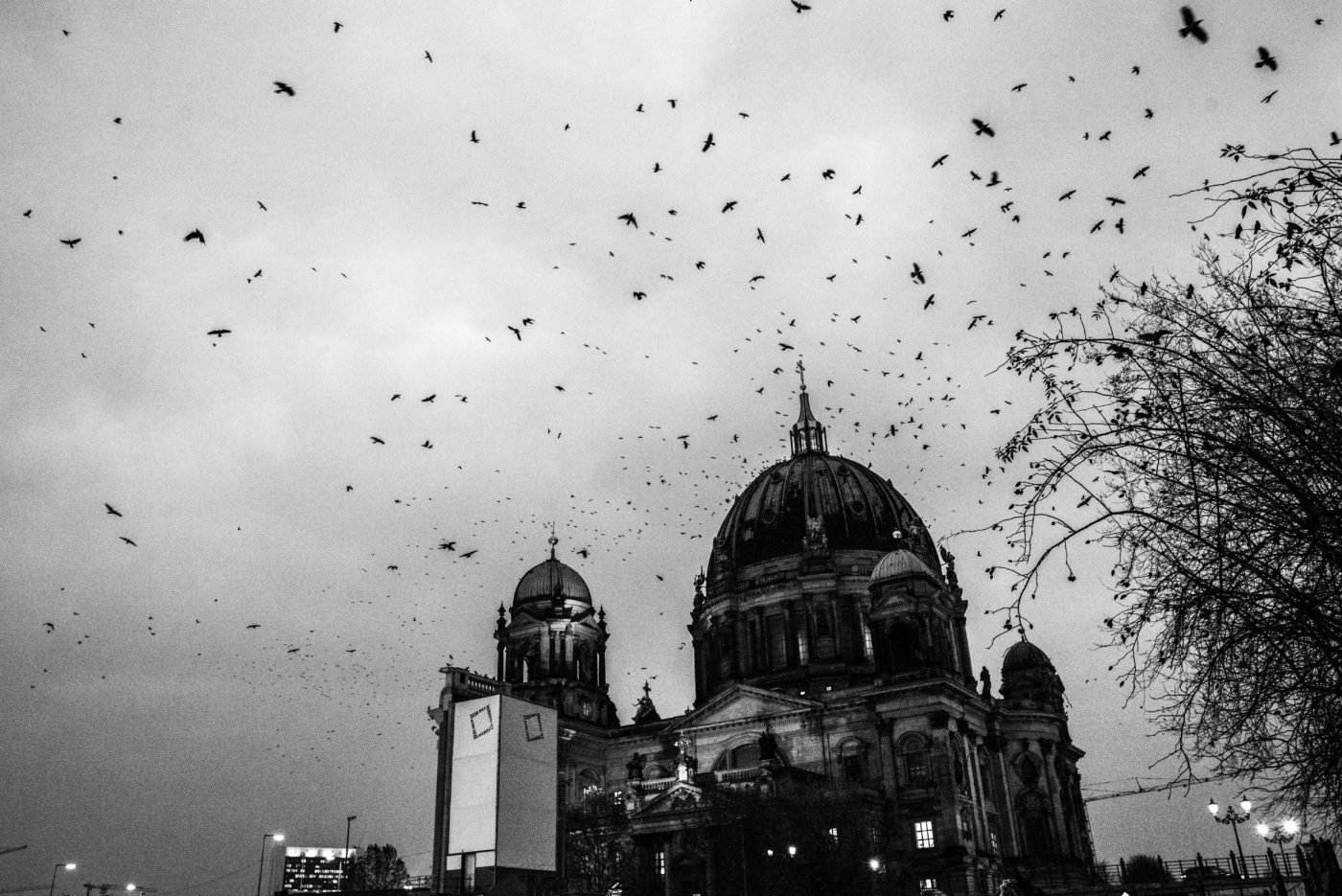 Black and White Berliner Dom